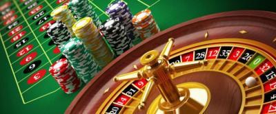 roulettebord med marker